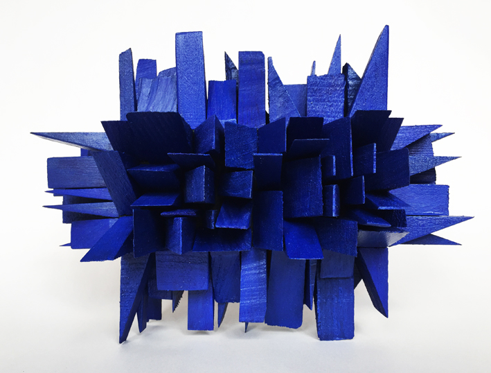Carmel Wallace, Blue-Wedge Forest 2015