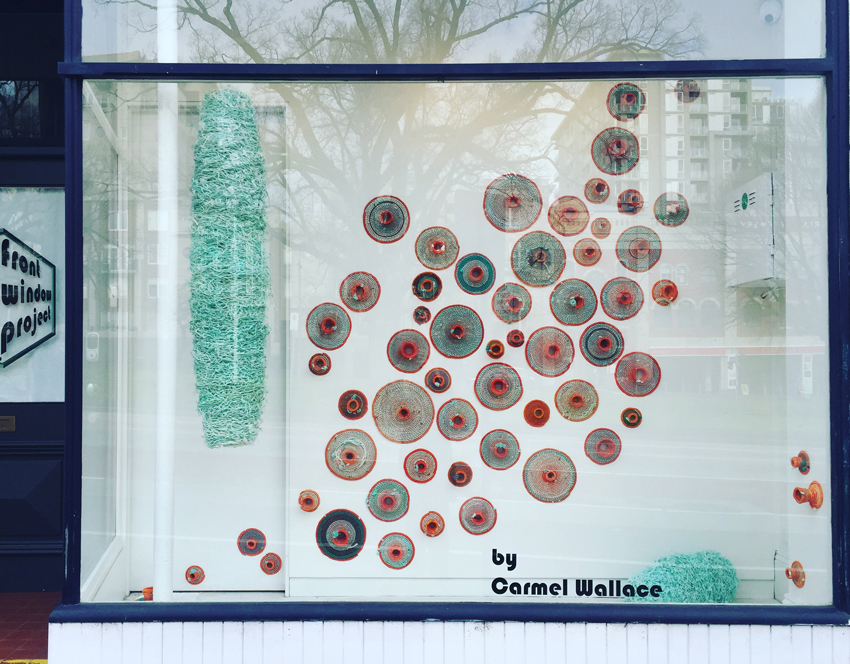 Carmel Wallace_Colony 4 installation_Front Window Project_July 2016